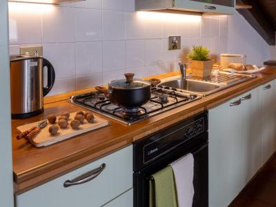 Cucina Mansarda Residence Ferraud